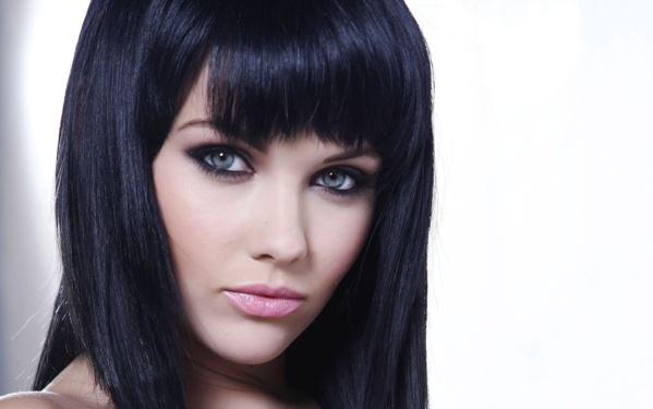 Как сделать волосы черными без краски