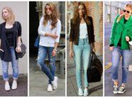 Кеды в тренде: с чем и как их носить?