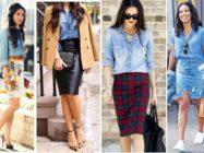 Джинсовая рубашка и джинсовое платье: модно, стильно, удобно