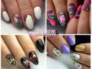 Маникюр с тюльпанами — идеи на короткие и длинные ногти