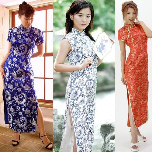 Платья в китайском стиле