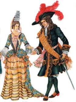 Причудливая пышность... Стиль барокко в одежде