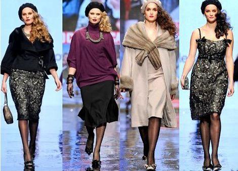 Новогодние платья для полных женщин 2012 (80 фото) - 9.