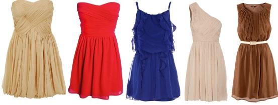 Платья из шифона. Фасоны и модели платьев из шифона