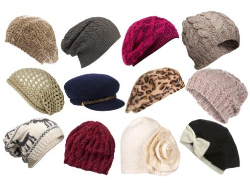 В 2014 году акцент ставится на объем. Для сезона предлагаются вязаные шапки, пуховые платки, береты, шапки ушанки