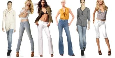 С чем носить светлые джинсы?