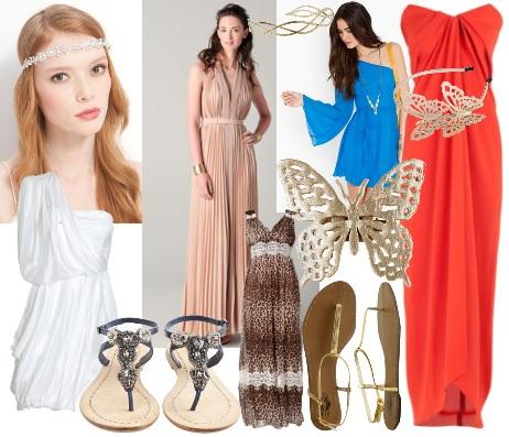 Греческие платья. Платья в греческом стиле