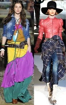 Стиль фьюжн (fusion) в одежде