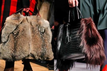 Несомненный тренд сезона - сумки из кожи рептилий.