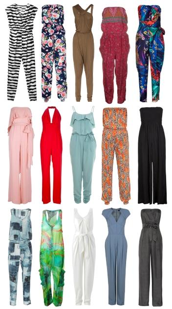 Модные женские летние комбинезоны