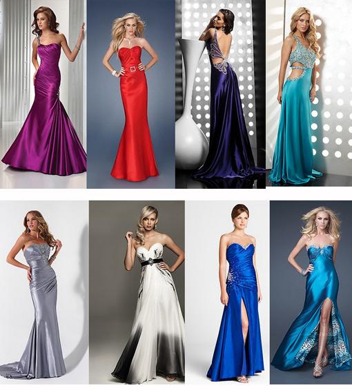 Какие они модные вечерние платья 2013