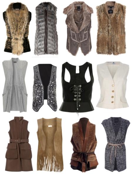 Модные Жилеты 2013