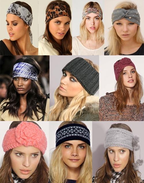 Модные повязки для головы