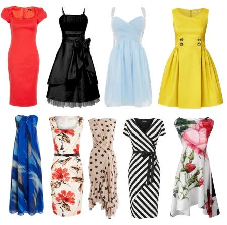 Фасоны летних платьев для девушек