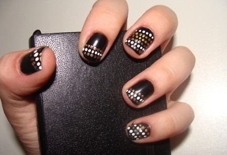 Зимние варианты дизайна ногтей
