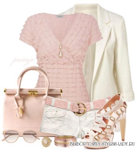 С какими цветами сочетается розовый, фото