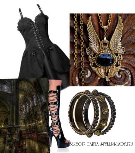Одежда в готическом стиле, фото