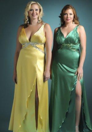 Вечернее платье для полных дам