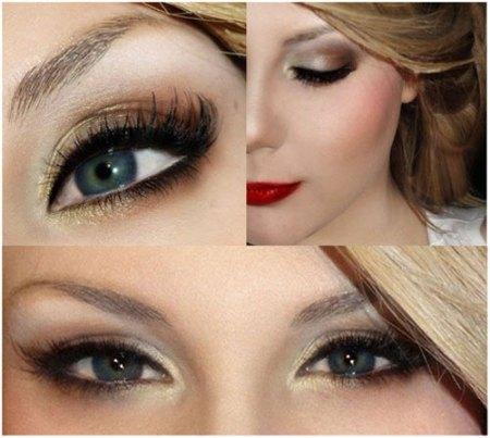 Как делать красивый макияж глаз