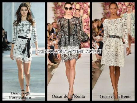 Модные платья весна 2015 - полный обзор с фото