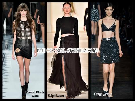 модные юбки в стиле глем рок 2015