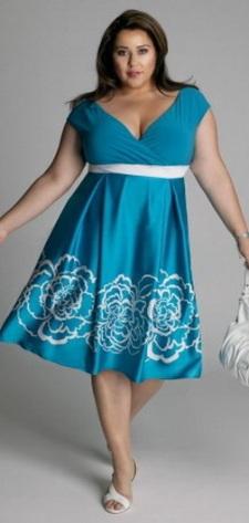 Нарядные платья для полных. Модели нарядных платьев для полных