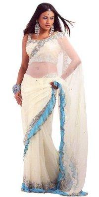 Как правильно одевать сари?