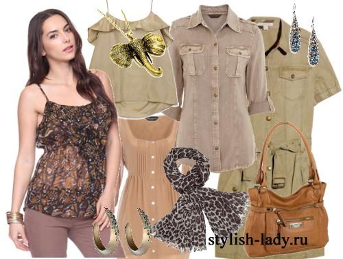 Сегодня стиль сафари в одежде претерпел существенные изменения, но.