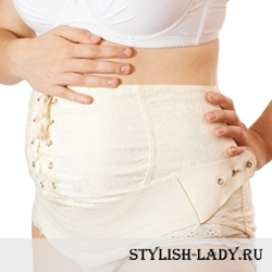 Как правильно одевать бандаж для беременных? Как правильно одевать послеродовой бандаж?