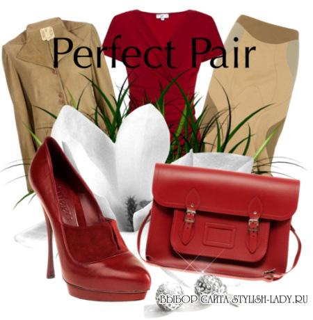 с чем носить бордовую сумку?...