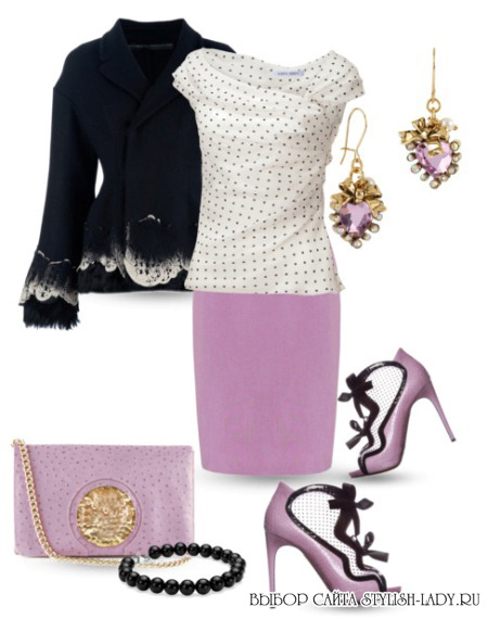 Страсть фиалки: фиолетовая сумка с чем носить?...