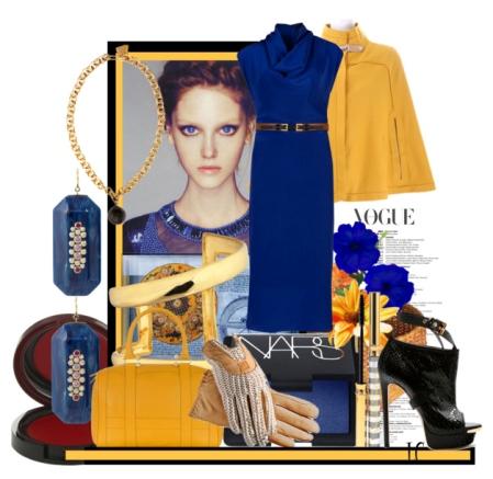 Пальто горчичного цвета: с чем носить?