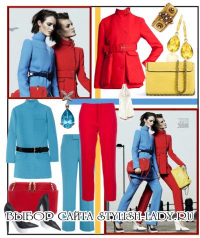 Законы стиля: с чем носить красную сумку