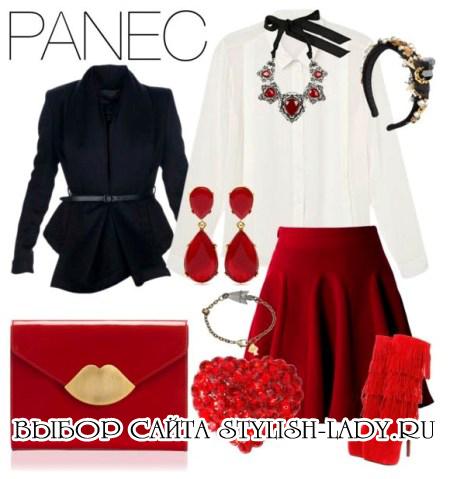 Красные сапоги: с чем носить?