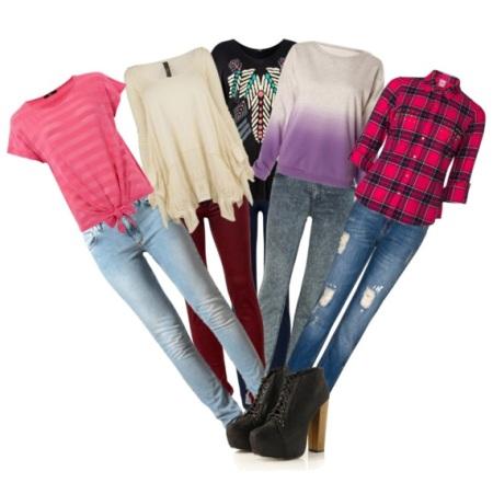 С чем носить узкие джинсы? Одеваемся со вкусом!