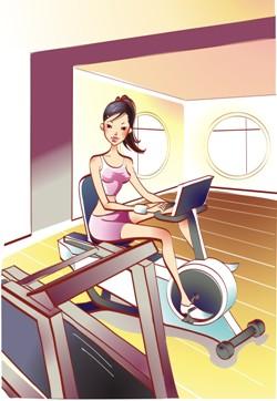 Занятия на велотренажере для похудения. Программа и результаты занятий на велотренажере