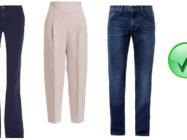 Как правильно выбрать брюки по фигуре и их размер