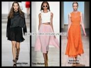Обзор модных юбок 2015