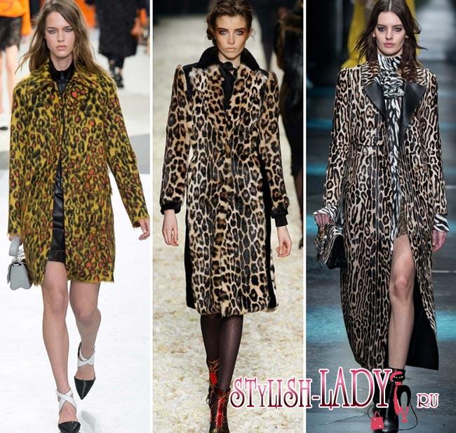 модные леопардовые принты 2015-2016