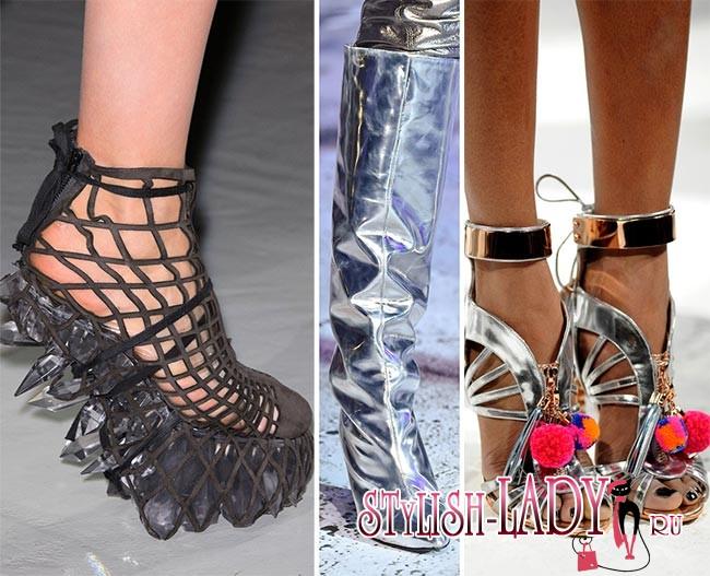 Разновидности женской обуви названия