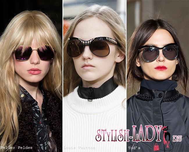 Осень / Зима 2015-2016: очки. Приятная новость в мире модных аксессуаров