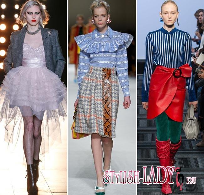 Модные тенденции осень - зима 2015 - 2016, фото