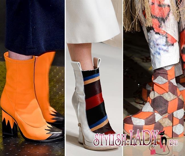 Модные тенденции осень — зима 2015/2016 — обувь