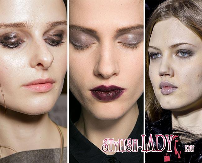 Осень/зима 2015-2016: тенденции в макияже
