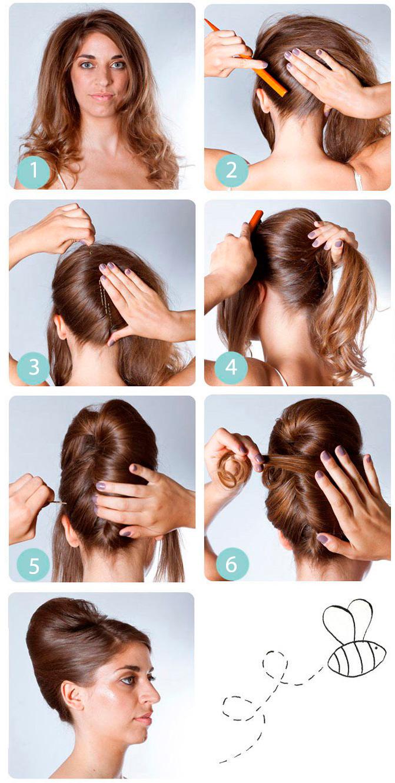 Как закручивать волосы в ракушку