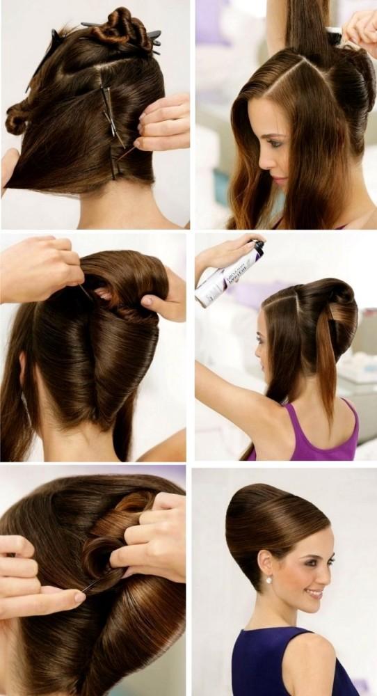 Как сделать на волосах ракушку