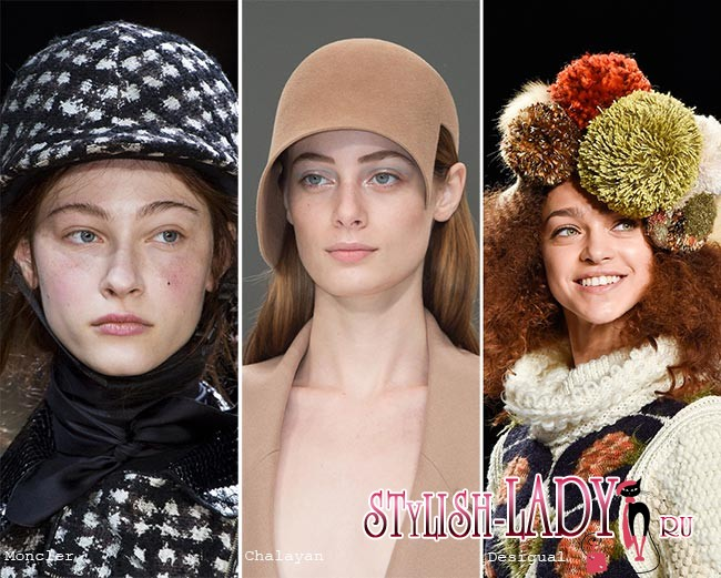 Модные шапки, кепки, береты и шляпки осени — зимы 2015/2016