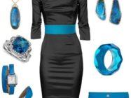 С чем носить черное платье: создаем стильный образ