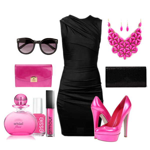 Маленькое черное платье какая обувь