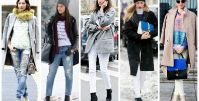 Модные светлые джинсы: с чем их носить?